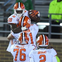 Spartanburg Herald-Journal file photo Tavien Feaster, pictured above during his commitment to Clemson on 2015 National Signing Day, will be a freshman for the Tigers this fall.