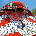 Planning a trip to Wisconsin Dells this summer? A 'giant snake' water slide awaits kids and families at Noah's Ark