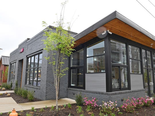 Nashville restaurateur Miranda Pontes is opening the first of two planned Germantown restaurants, the first being Lulu. Monday April 17, 2017, in Nashville, TN