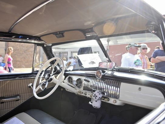 Have a sweet ride or like to look at them? The Eagles'10th annual car show runs from 4-8 p.m. Thursday at the club,730-41st Ave. N, St.Cloud.