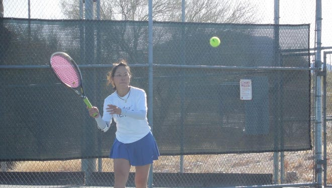 Pima tennis player Lien Nguyen is not your normal community college athlete.