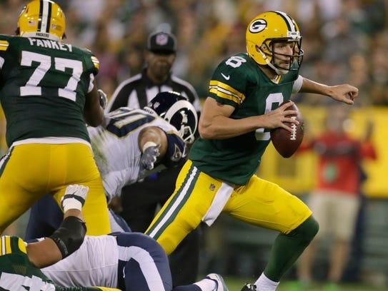 Undrafted quarterback Taysom Hill was a preseason star