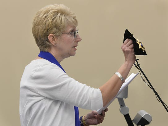 Mary Whitaker, mother of deceased Ingham County Sheriff's