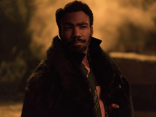 "Donald Glover is Lando Calrissian in ""Solo: A Star"