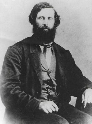 """Dr. Brewster M. Higley was the original author of the song """"Home on the Range."""" SUBMITTED PHOTO"""
