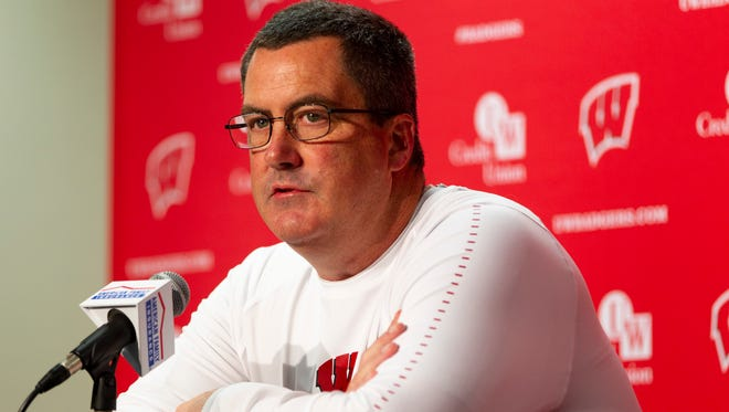 Wisconsin football coach Paul Chryst said Wednesday at media day that it doesn't matter where the Badgers are ranked.