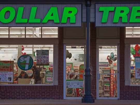 A Dollar Tree store is seen in Chantilly, Va., earlier this year.  In 2013, an inspection of the Dollar Tree store in Talleyville found three safety violations: failing to have readily accessible fire extinguishers and two incidents of obstructing exits with boxes stacked in a way that would allow sliding and collapse.
