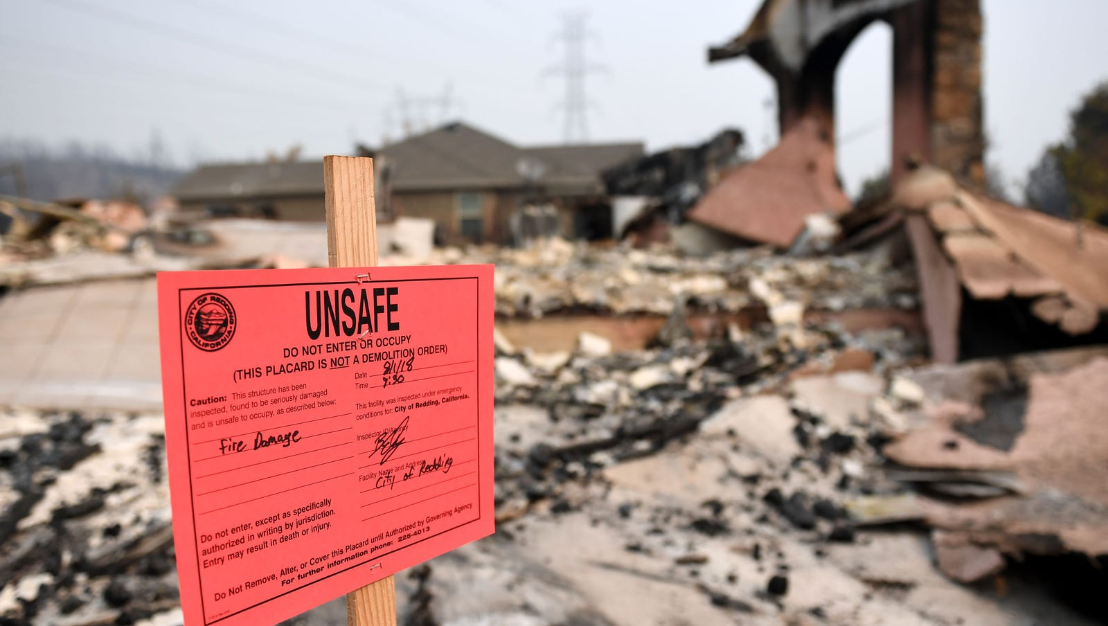 Redding maps show panoramic views of Carr Fire's devastation