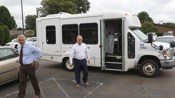 Transportation is a big part of the budget at the Tuscarawas County Senior Center.