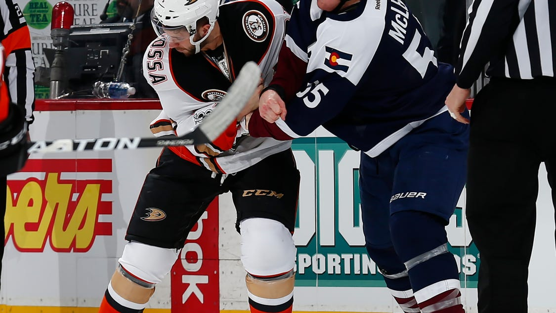 predators acquire forward cody mcleod from avalanche. Black Bedroom Furniture Sets. Home Design Ideas