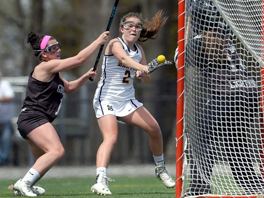 Spencerport's Erin Coykendall, pictured last year,