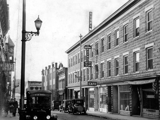 From the Hamrick Collection -Looking South on Central