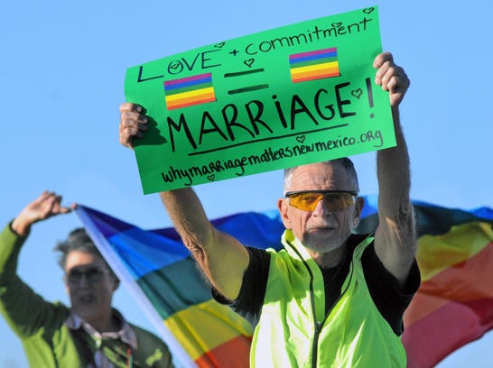 AP Gay Marriage New Mexico