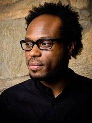 Detroit poet Jamaal May.