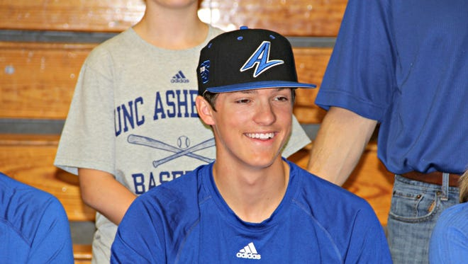Owen's Will Westbrock singed with UNC Asheville to play baseball Thursday