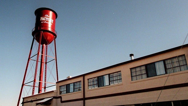 A proposal to potentially demolish the water tower at The Factory in Franklin has met with opposition from many community members.