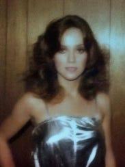 Ron Barnett's wife, Kathy, during their rock n' roll