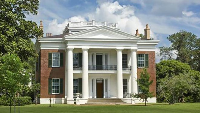 File photo of a Greek-revival style mansion.