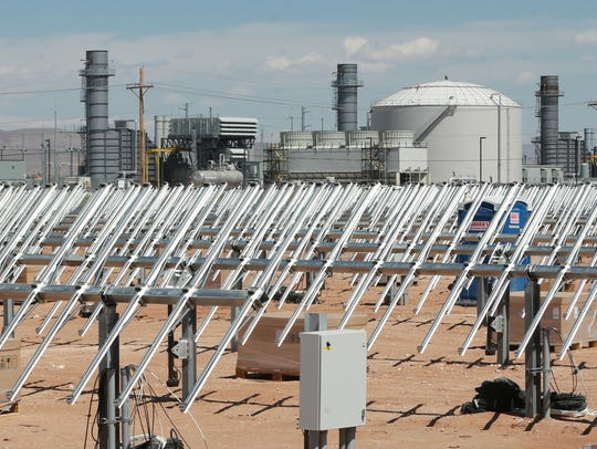 El Paso Electric's community solar plant is being constructed