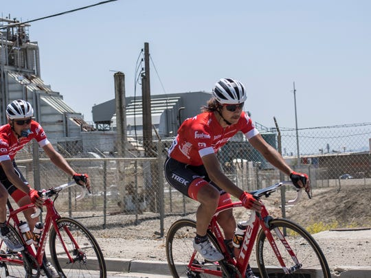 Team Trek-Segafredo won Stage 3 from King City to Laguna Seca and remain first in the team standings.