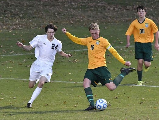 Floyd Central's Landon Campbell recorded 24 goals for