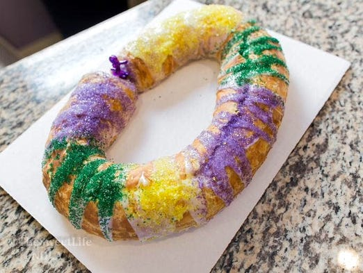 Sweet Life Bakery King Cake