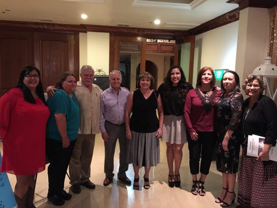 Hope House staff with Tim Legamaro