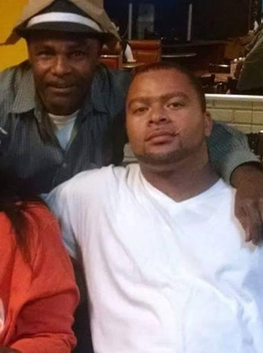 """Mother, Earnestine Havvard (left); father, Clarence Havvard Sr.; and Clarence """"Wade"""" Havvard Jr."""