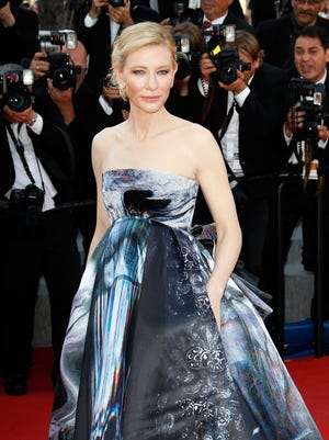 Cate Blanchett at 'Carol' premiere at Cannes.