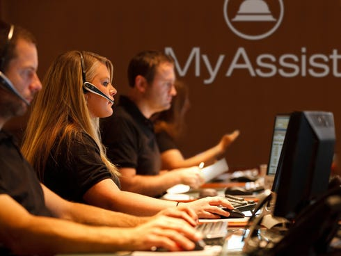 MyAssist agents provide concierge services to customers. Over the holidays, agents helped travelers locate lost baggage and book rental cars.