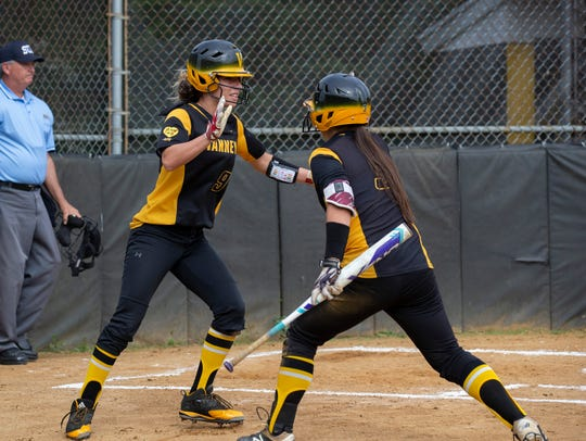 SJV's Shelli Rivard and Gillian Zack celebrate after