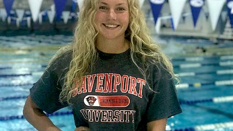 Chelsea Engelsman committed to Davenport University on Monday.