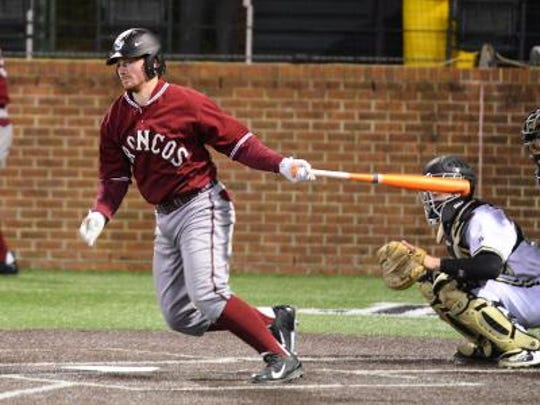Santa Clara University first baseman/outfielder Ryan