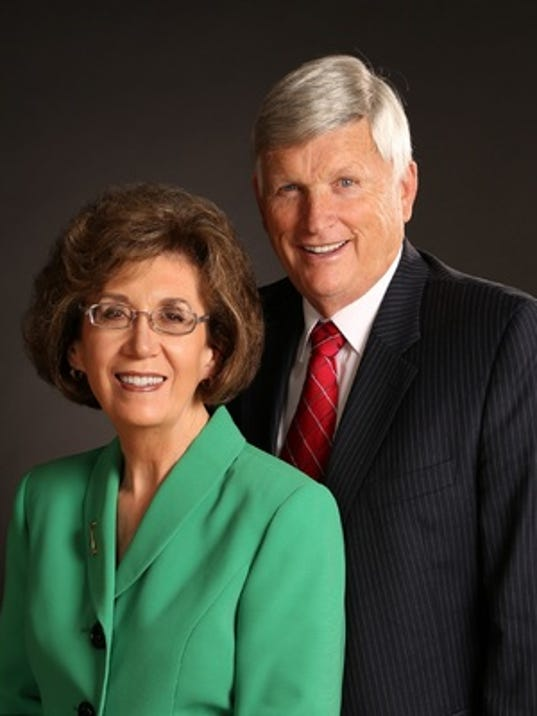 Anniversaries: Burke Hamilton & Marcene Briggs Hamilton