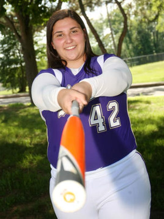 2014 HNT Player of the Year Marisa Monasseri of Monroe