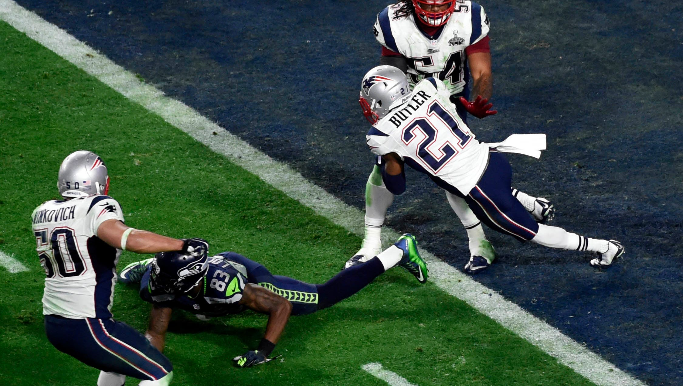 Malcolm Butler New England Patriots Action Photo 11 x 14