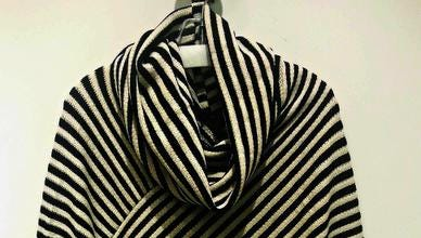 Stay warm in this cool cowl-neck poncho that's perfect for football games, hay rides and trips to go cash in your lottery winnings. $48, The French Shoppe, 2817 West End Ave., Nashville. www.frenchshoppe.com; 615-327-8712