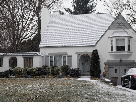 This home at 45 Graham Road in Scarsdale, pictured
