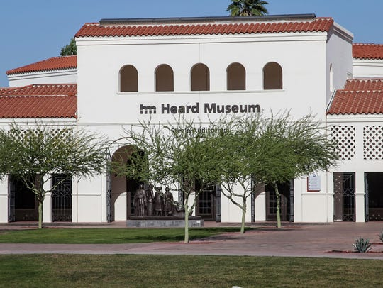 The Heard Museum, on Central Avenue in Phoenix, was
