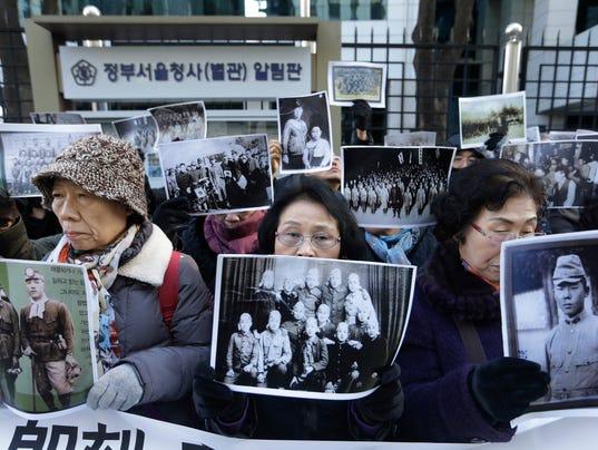 AP SOUTH KOREA JAPAN SEX SLAVES I KOR