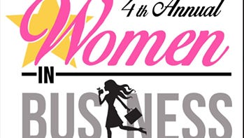 The fourth annual Women in Business Conference will be held from 8 a.m. to 3:30 p.m. Friday in the Holiday Inn Alexandria-Downtown.