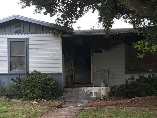 Devon Street house fire