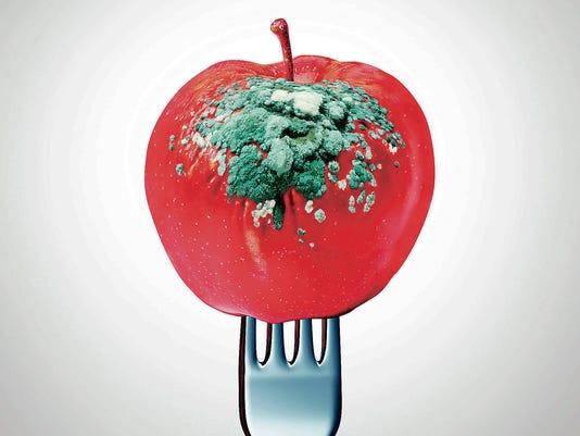 Rotten Food Symbol