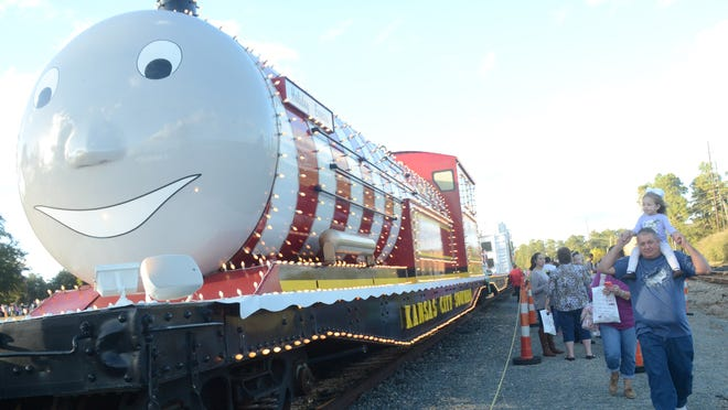 The KCS Holiday Express will be back in Pineville on Dec. 2.