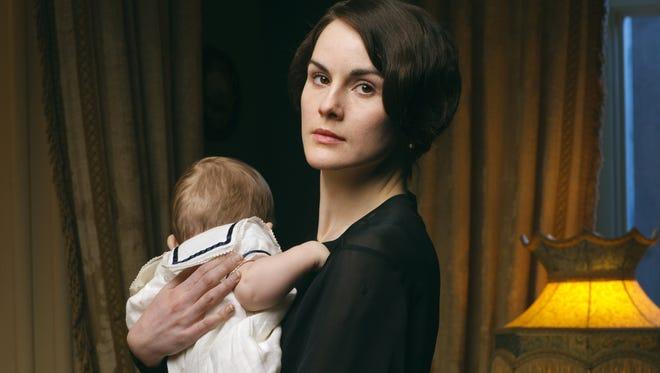 """Michelle Dockery stars as Lady Mary in """"Downton Abbey."""" PBS will air a recap of the show's first four seasons and a preview of Season 5 at 9 p.m. Sunday, Nov. 30."""