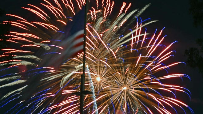 Fourth of July fireworks shows will be held in Paris on Friday; Greenwood, Van Buren, Alma, and Ozark on Saturday; and Fort Smith, Charleston, Booneville, and Ozark on Sunday.