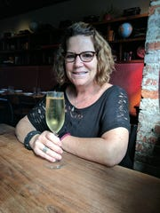 Front of House Manager and Wine Director at Bluebeard Jan Bugher. She is also a Certified Sommelier.