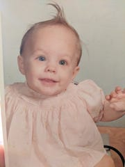Suanne Colegrove as a baby.