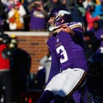 Blair Walsh's missed field goal on Jan. 10 ended the Vikings' hopes this season, but they'll be a contender next season for the Super Bowl -- and for a party.