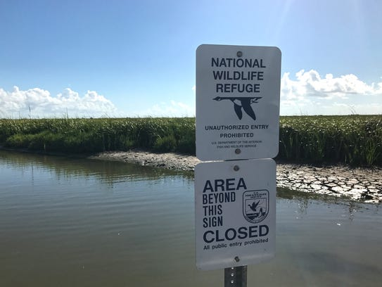 Boats are now prohibited within the Aransas National